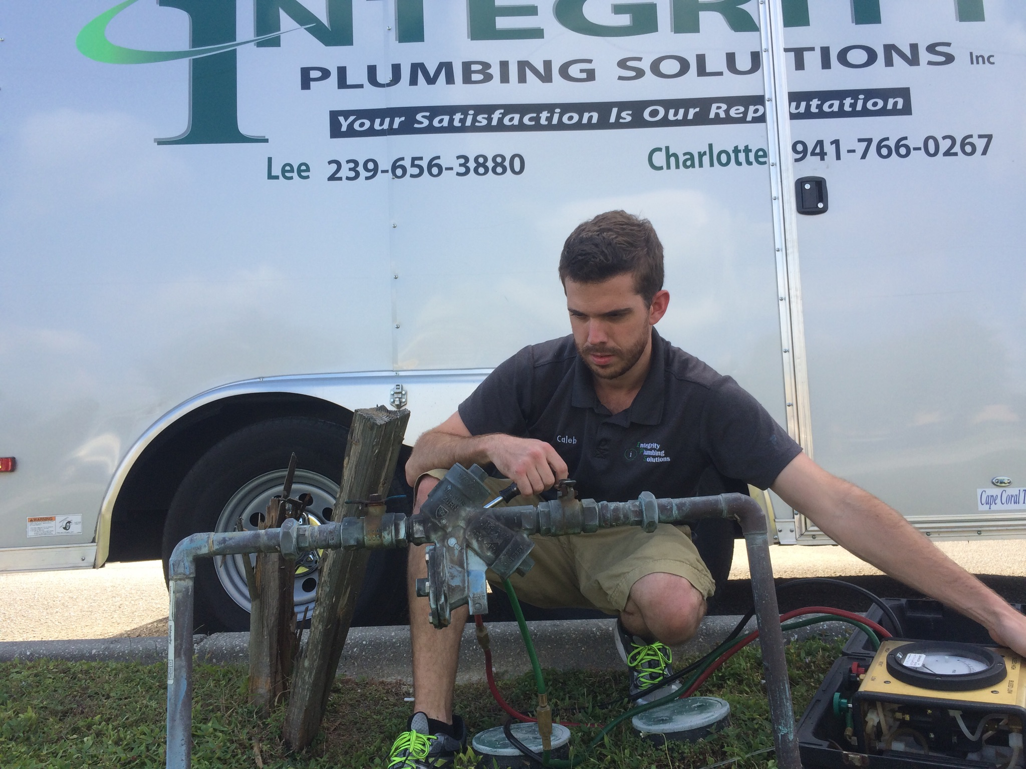 Caleb Ragan - State Certified Backflow Technician